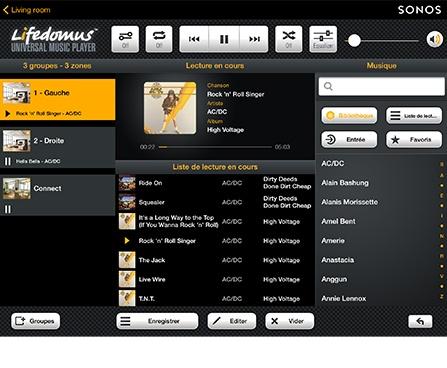 Multiroom audio et vidéo*
