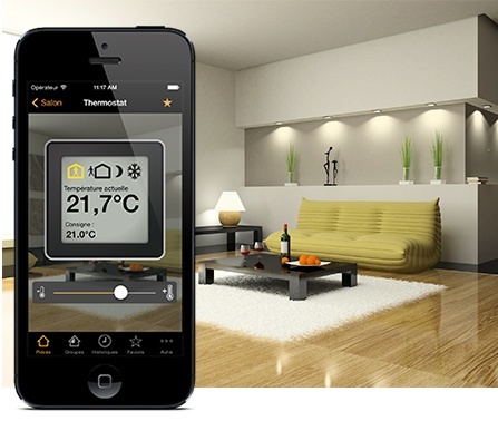Thermostat virtuel pour KNX